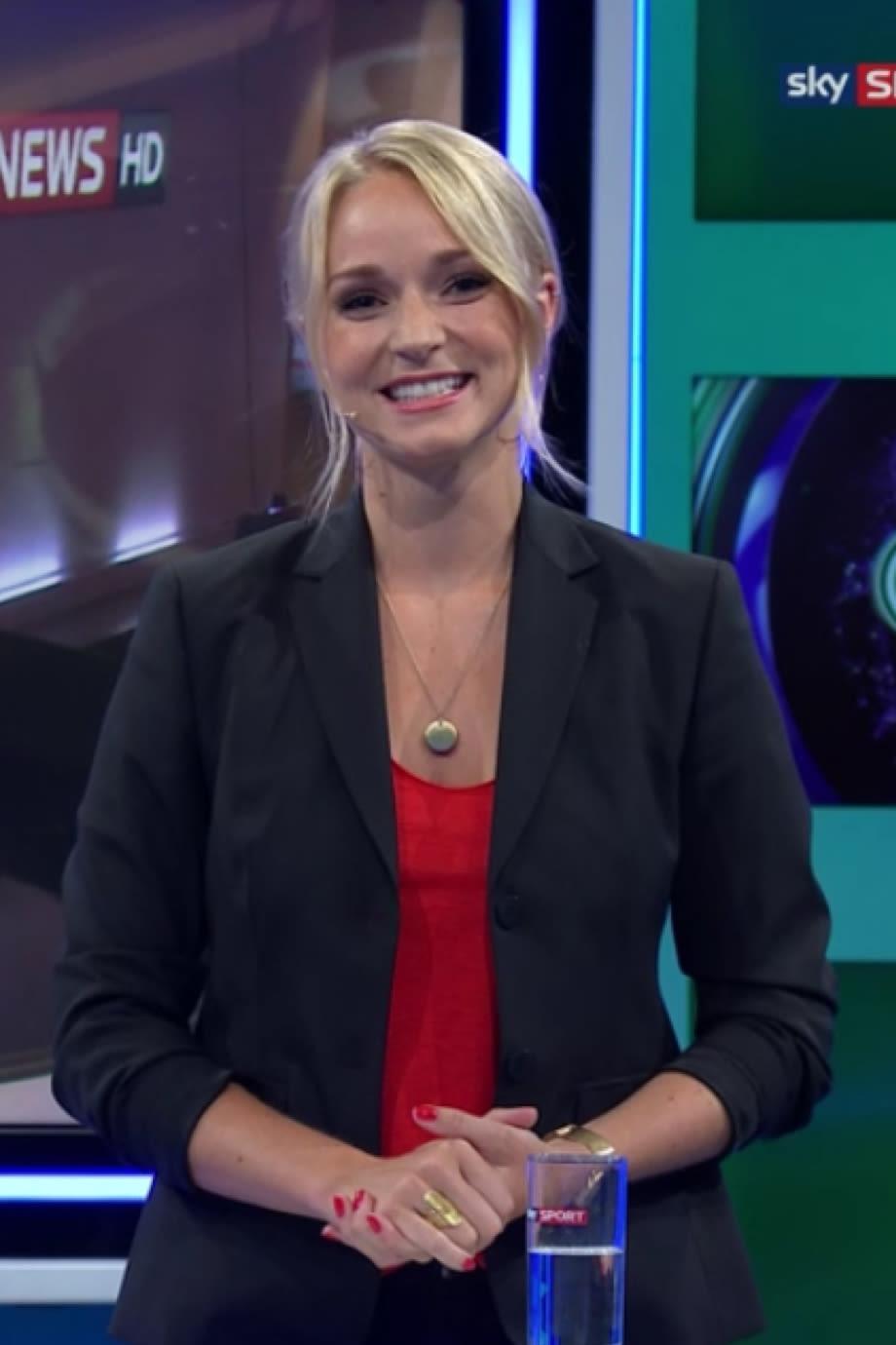 Moderatorinnen sky hd sport news Model wird