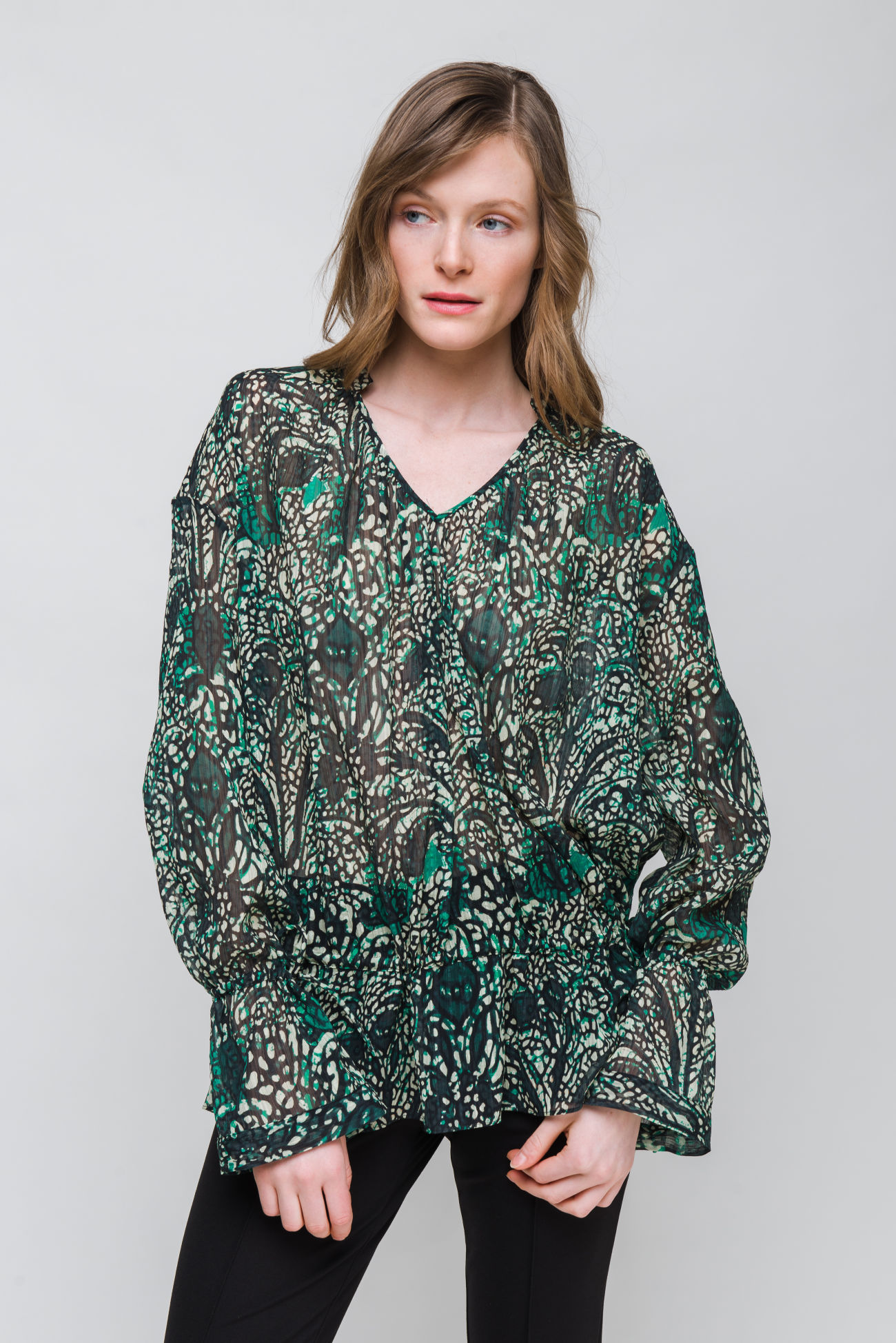 Bluse mit Paisley Muster