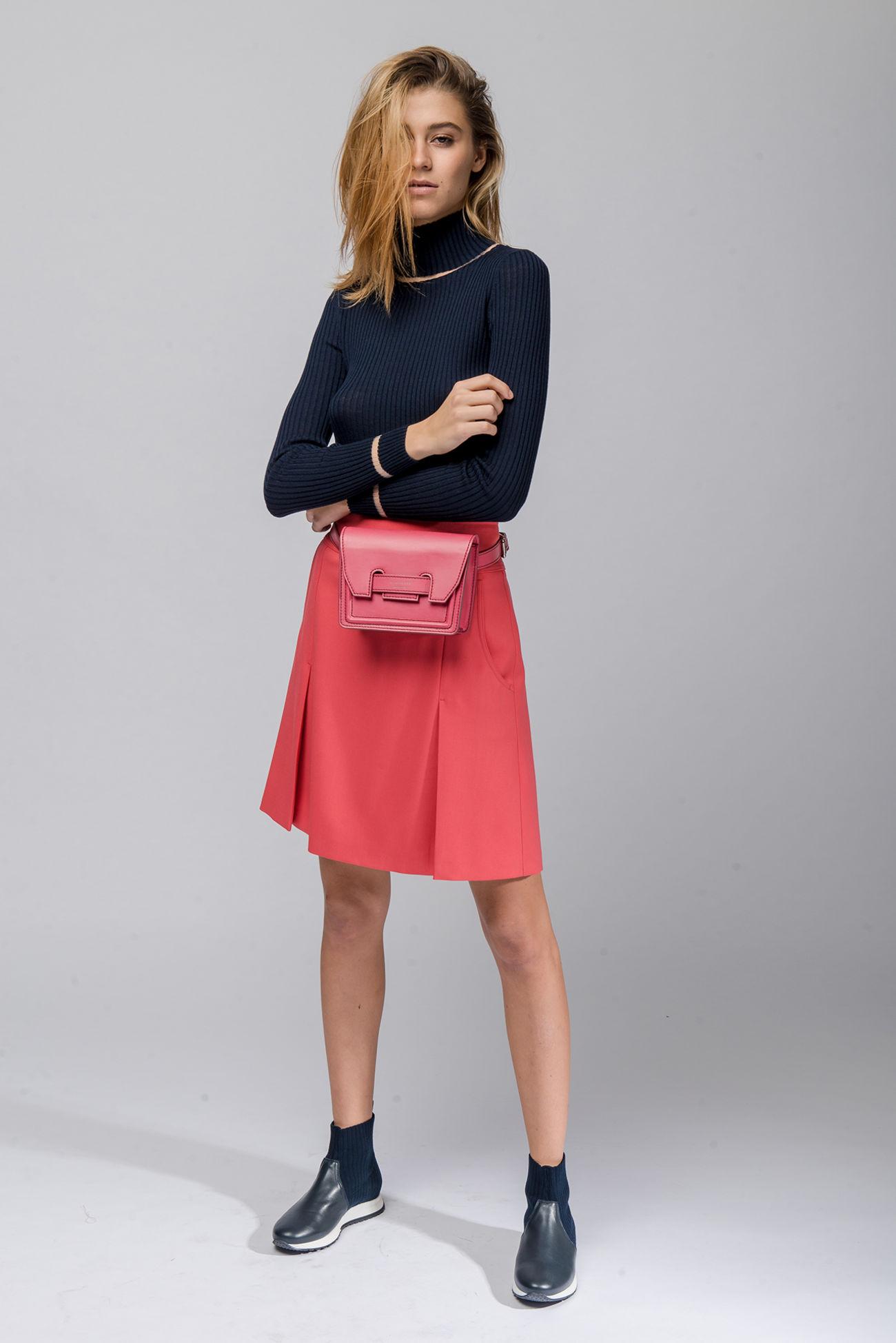 Skirt in grain de poudre