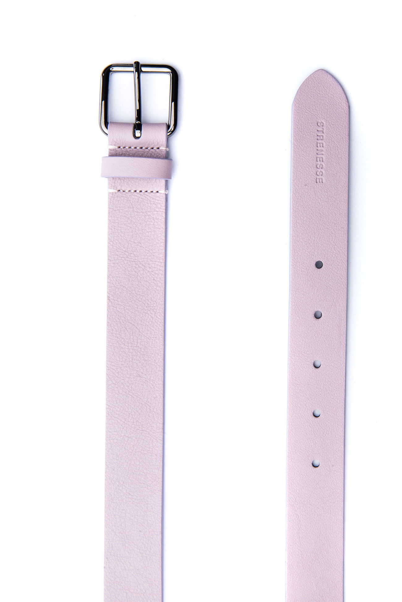 Elegant leather belt