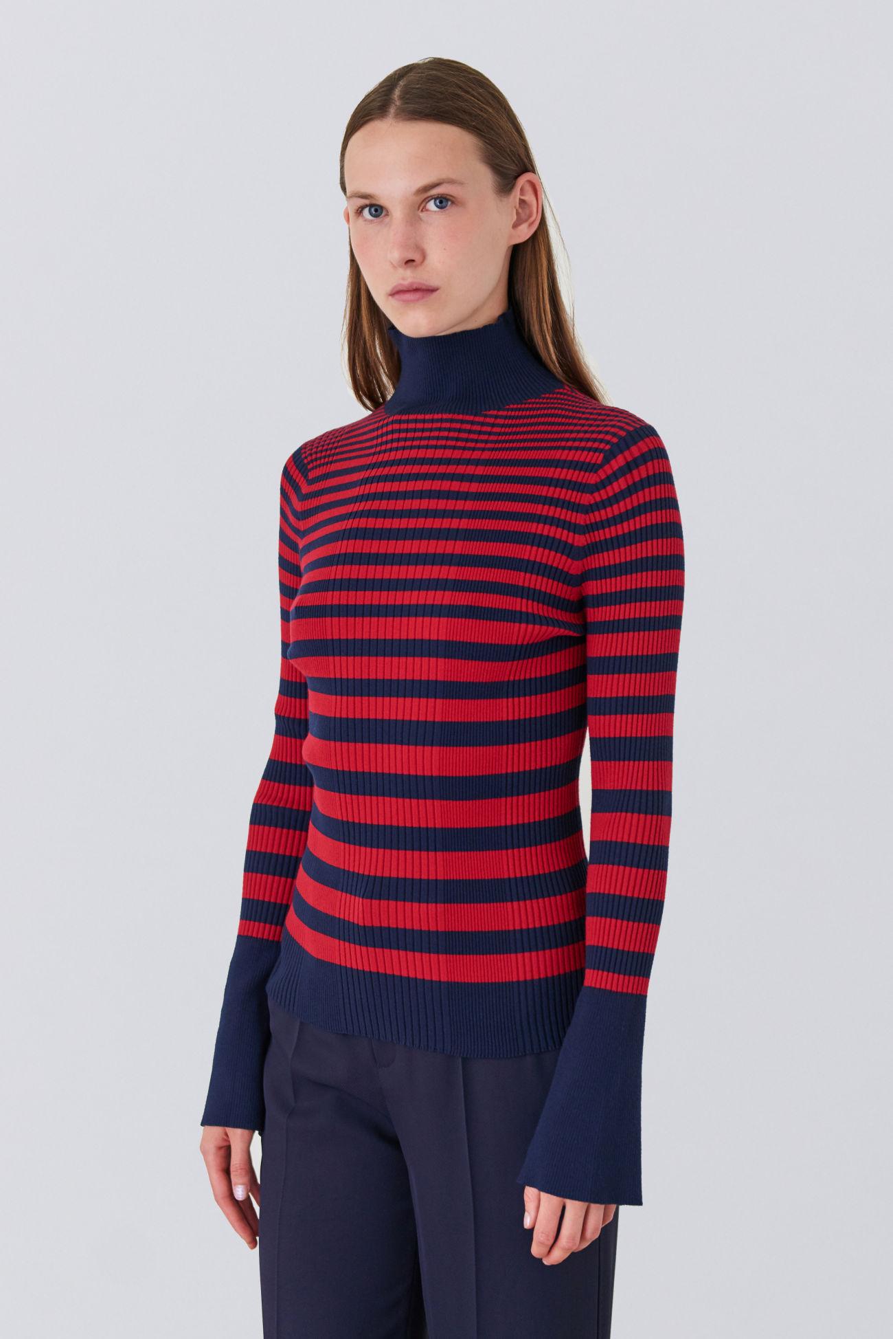 Pullover in rib