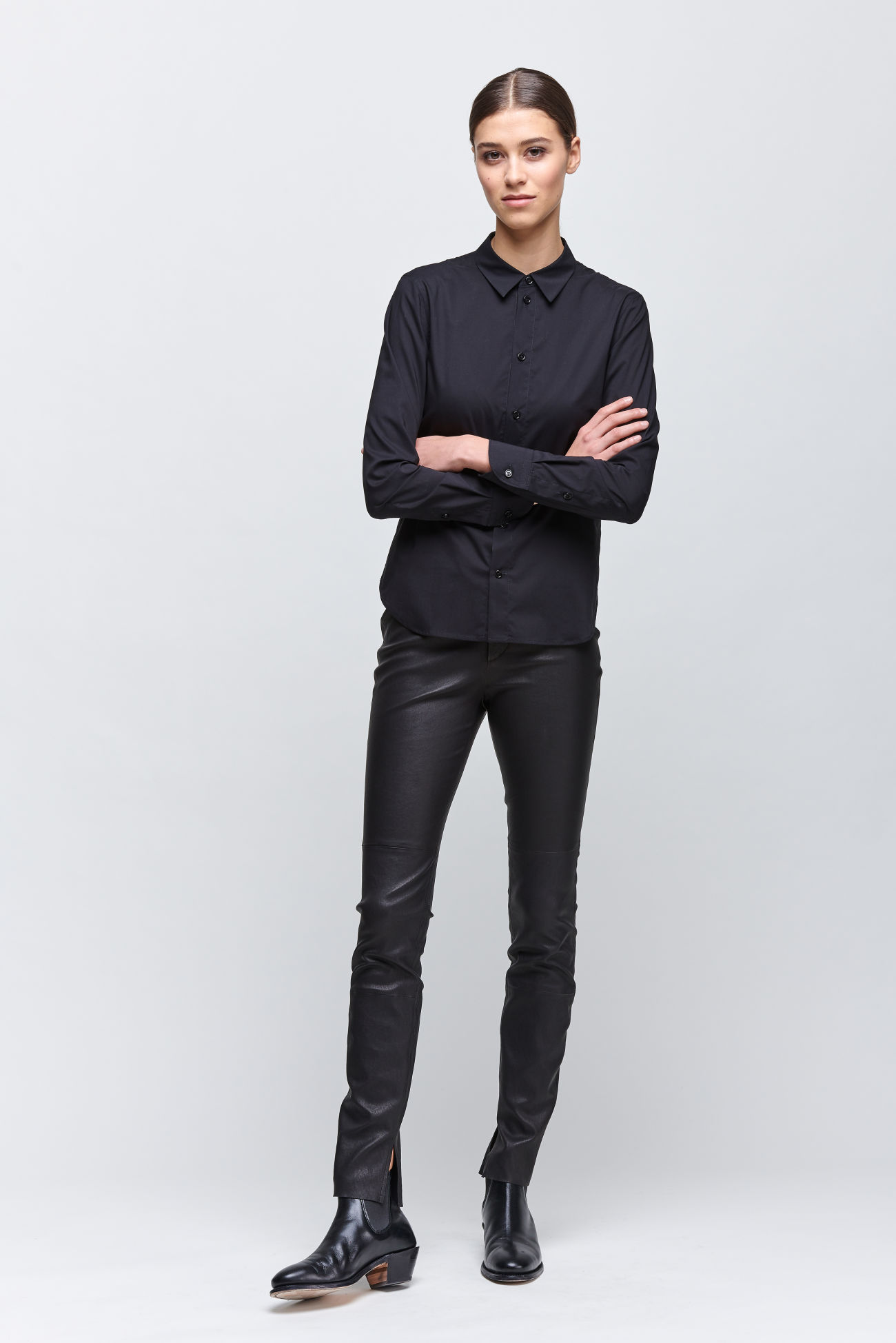 Slim blouse