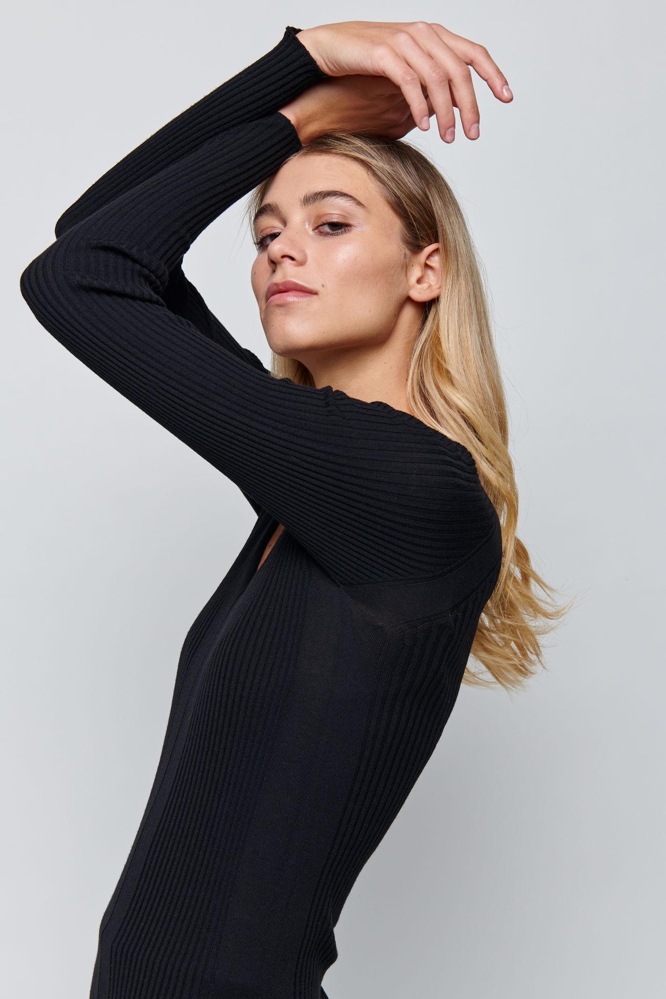Knitted Merino Wool Sweater