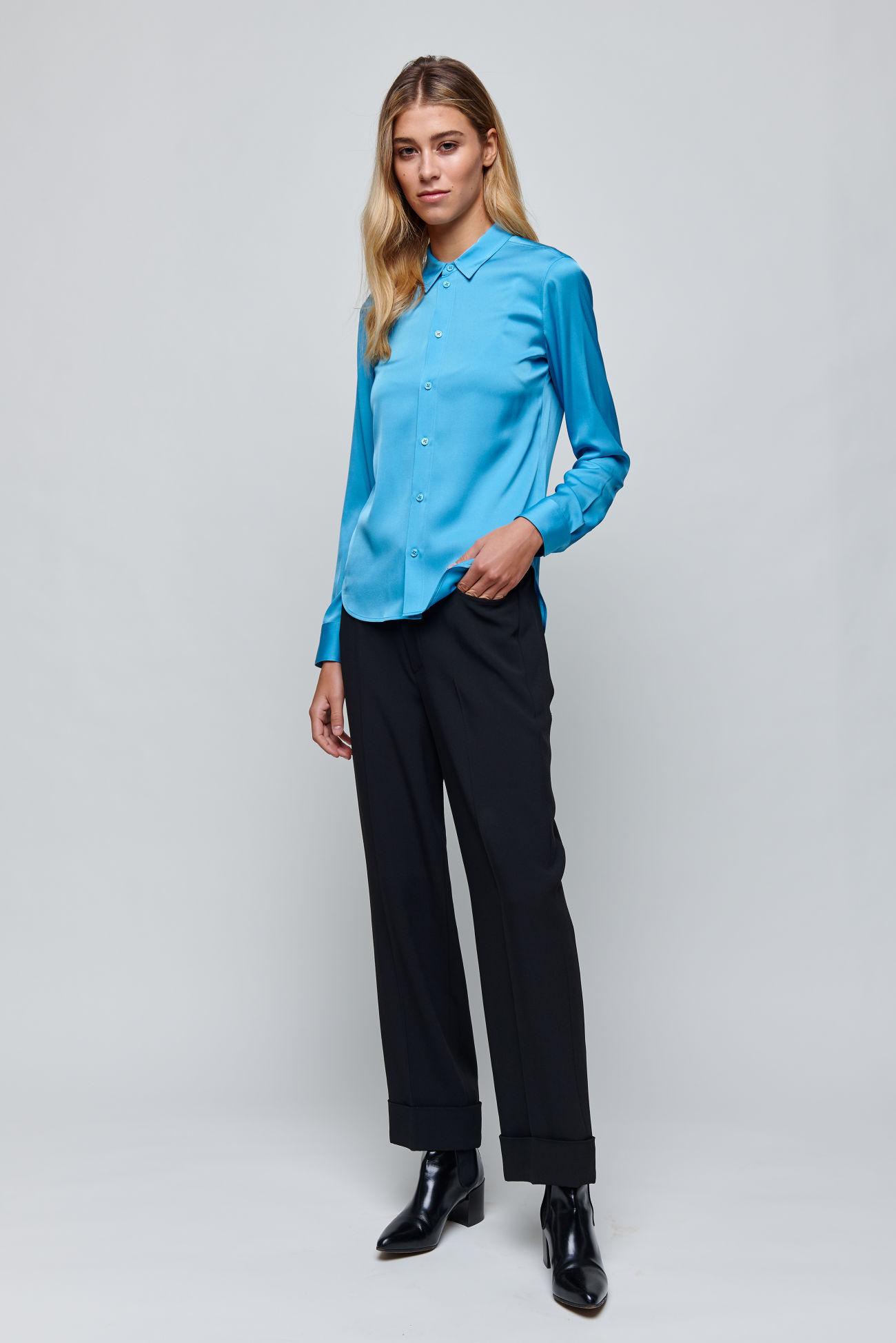 Elegant silk blouse