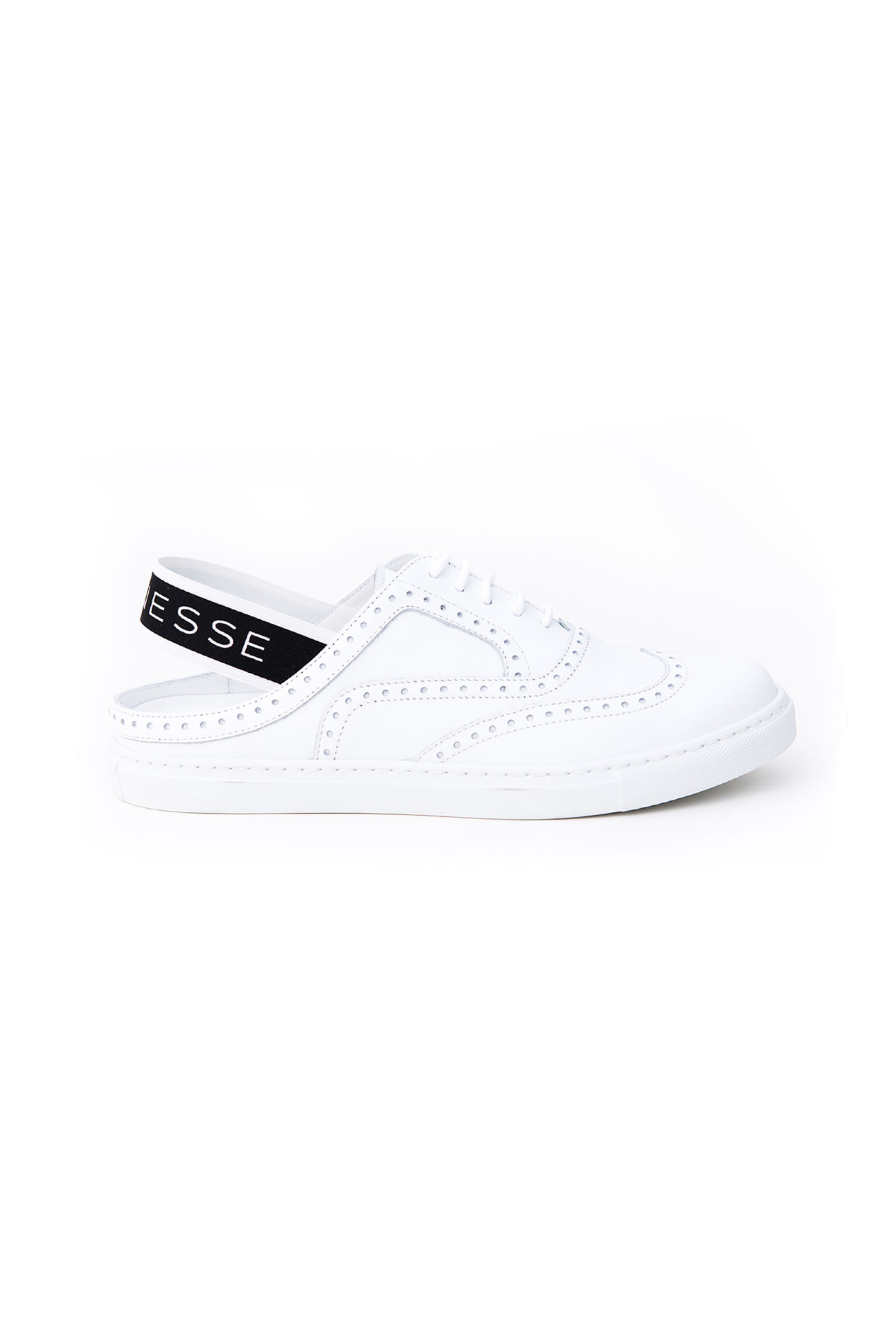 Cut out Leather Sneaker Anouk