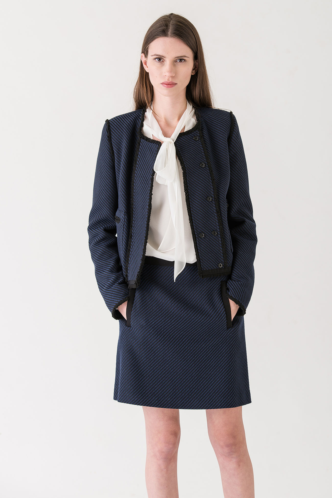 Structured twill jacket