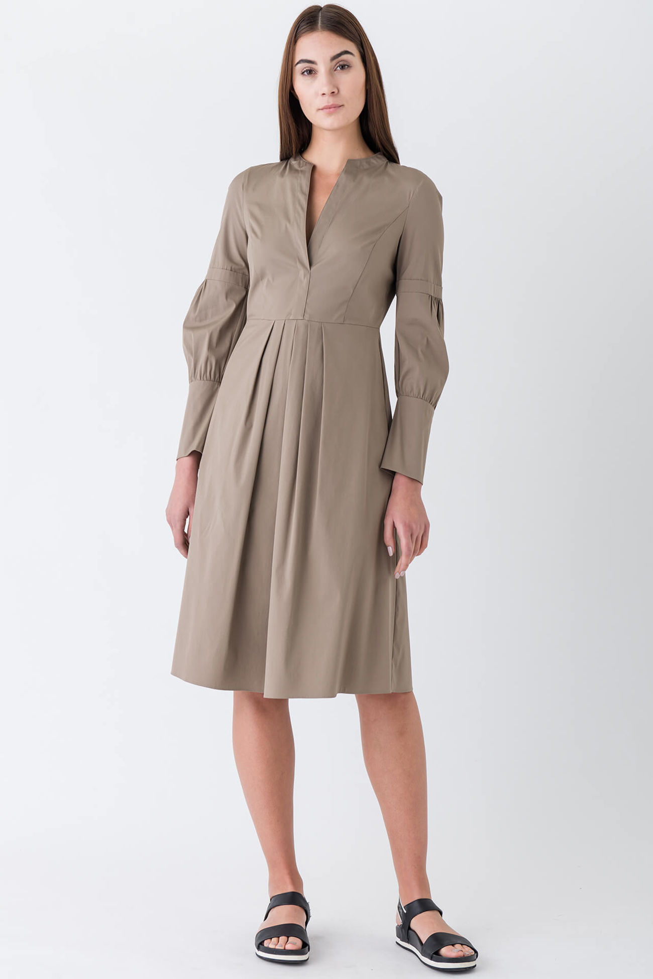 Flamboyant shirtdress for the office