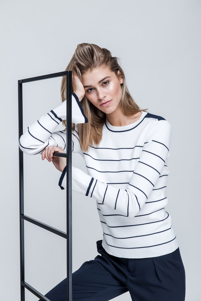 Baumwoll-Mix-Sweater