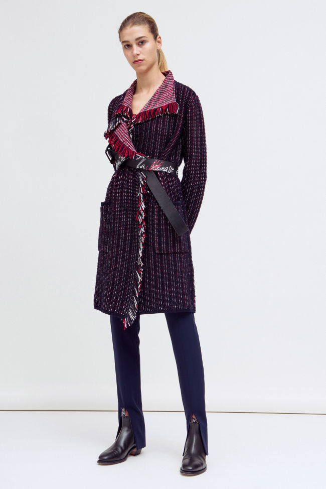 Cool knitted coat