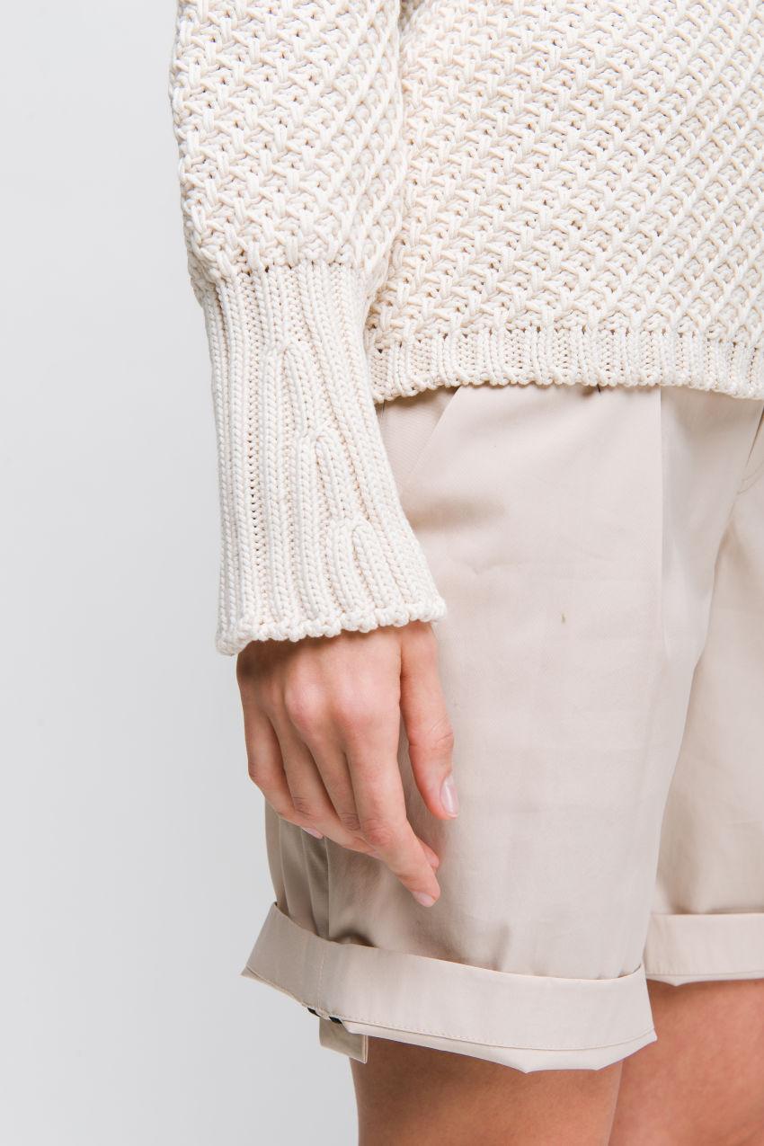 Pullover mit Diagonalmuster