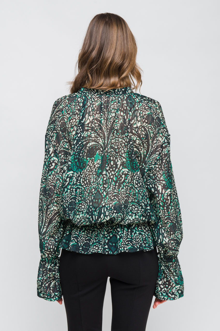 Blouse with Paisley