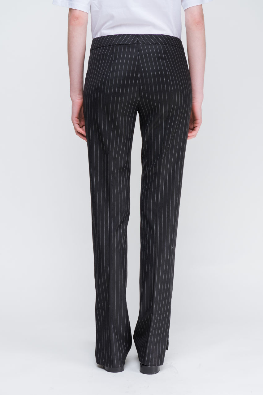 Trousers in a virgin wool mix