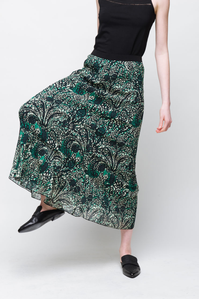 Rock mit Paisley Muster