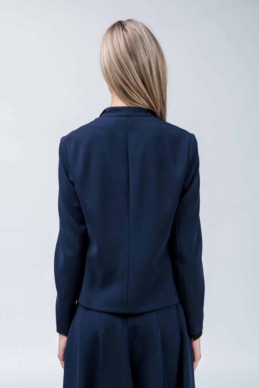 Jacket in travel-crêpe