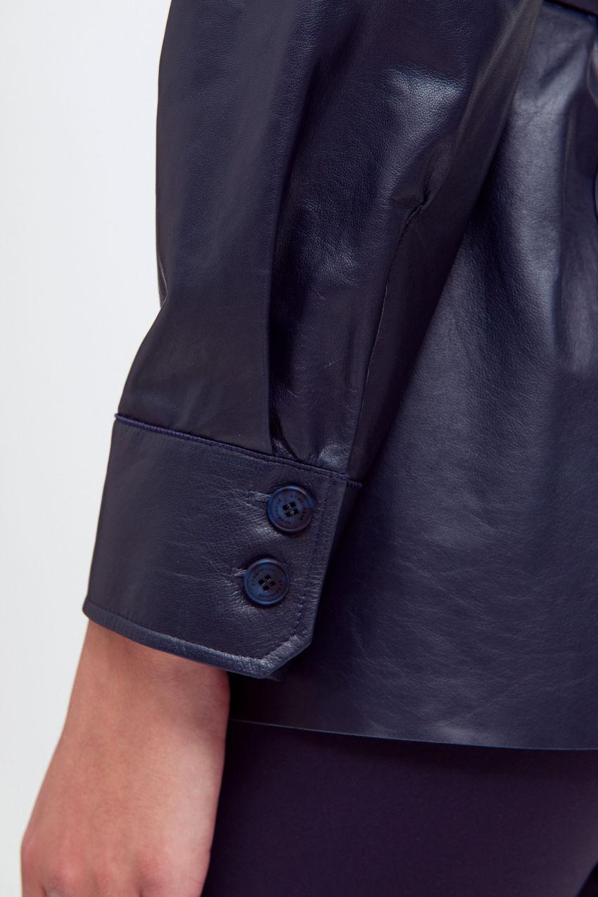 Jacke aus Nappa