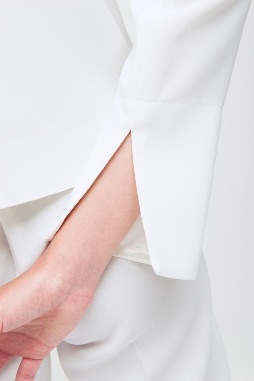 Bluse aus Crêpe