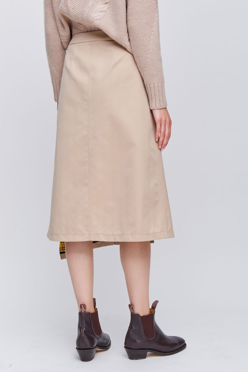 Fashionable wrap skirt