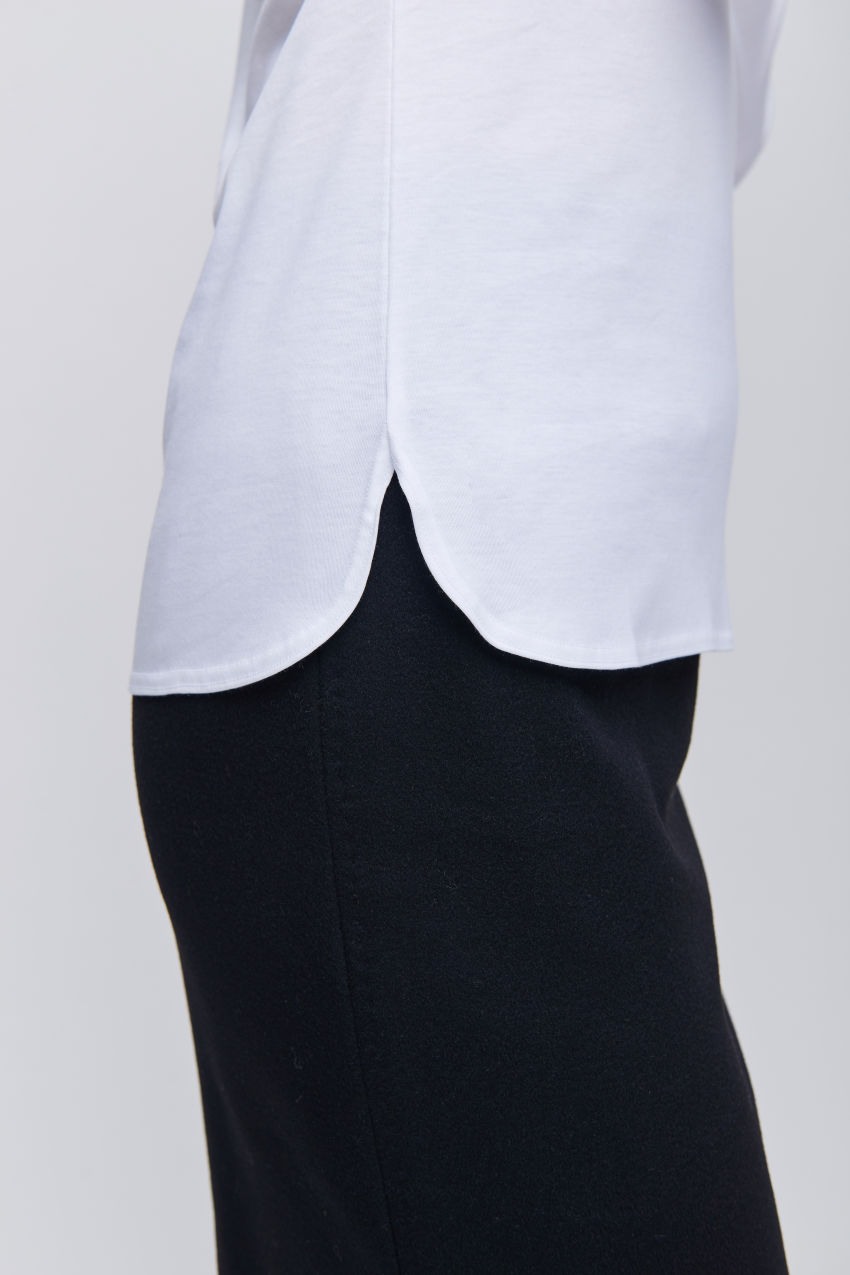 Basic Langarmshirt