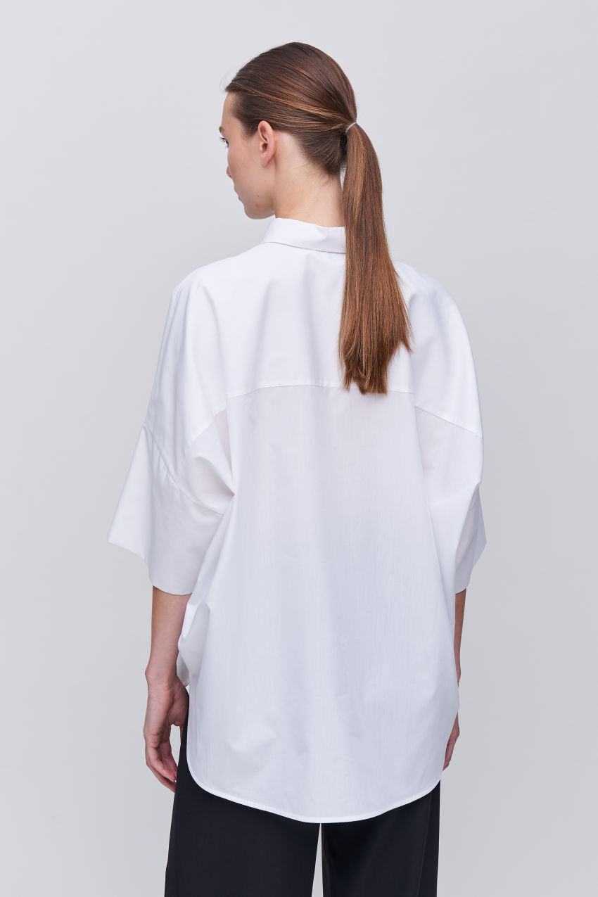 Cool oversize blouse