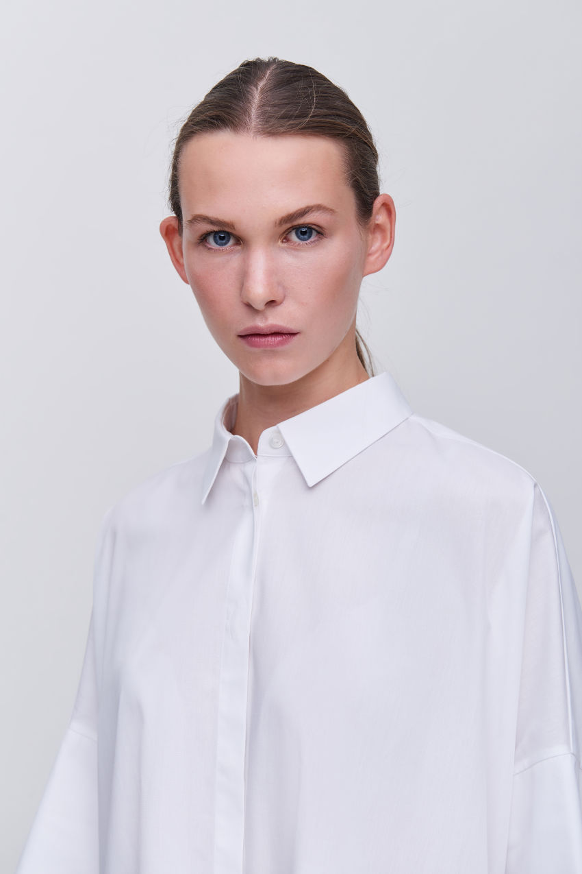 Coole Oversize-Bluse