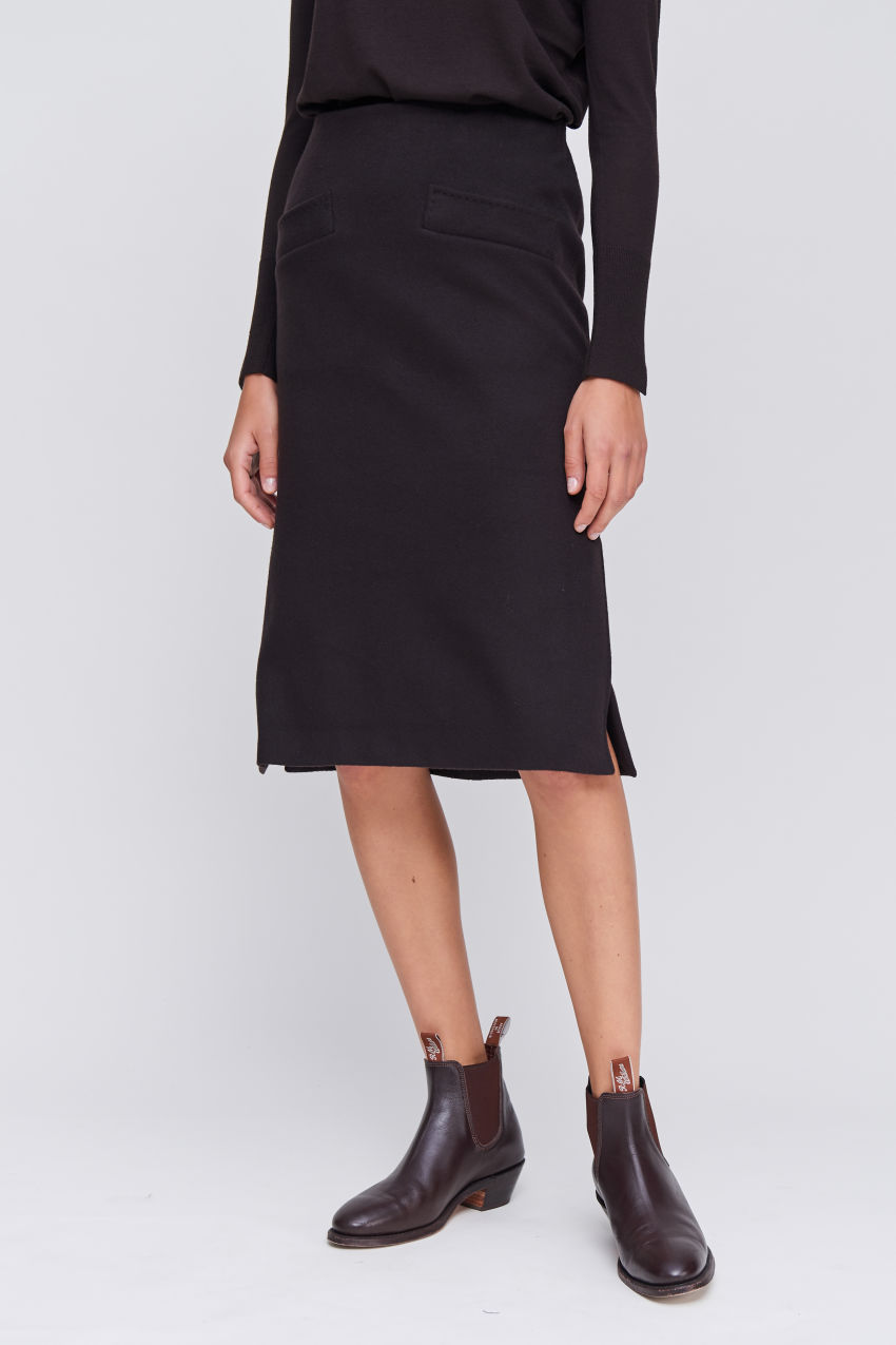 Feminine Business Skirt