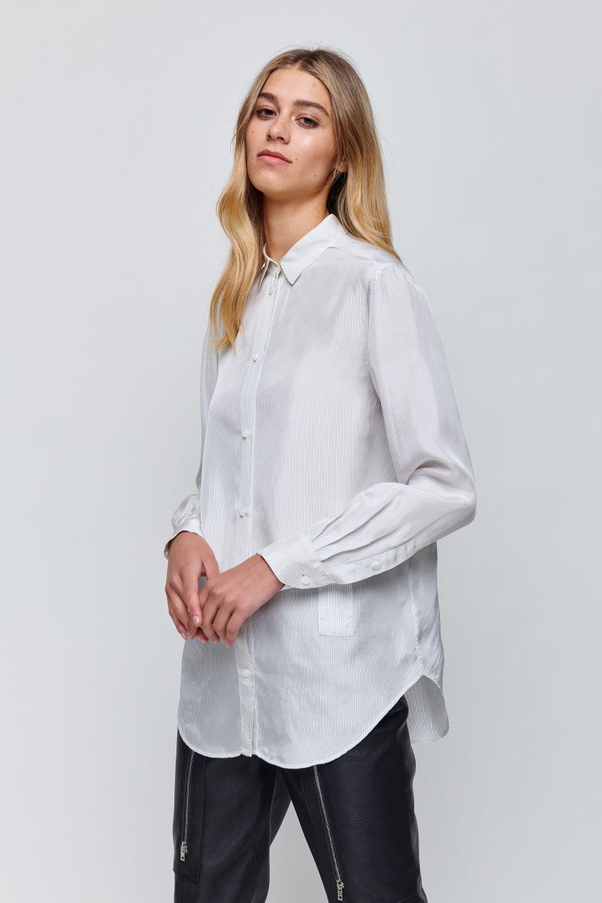 Klassische Bluse