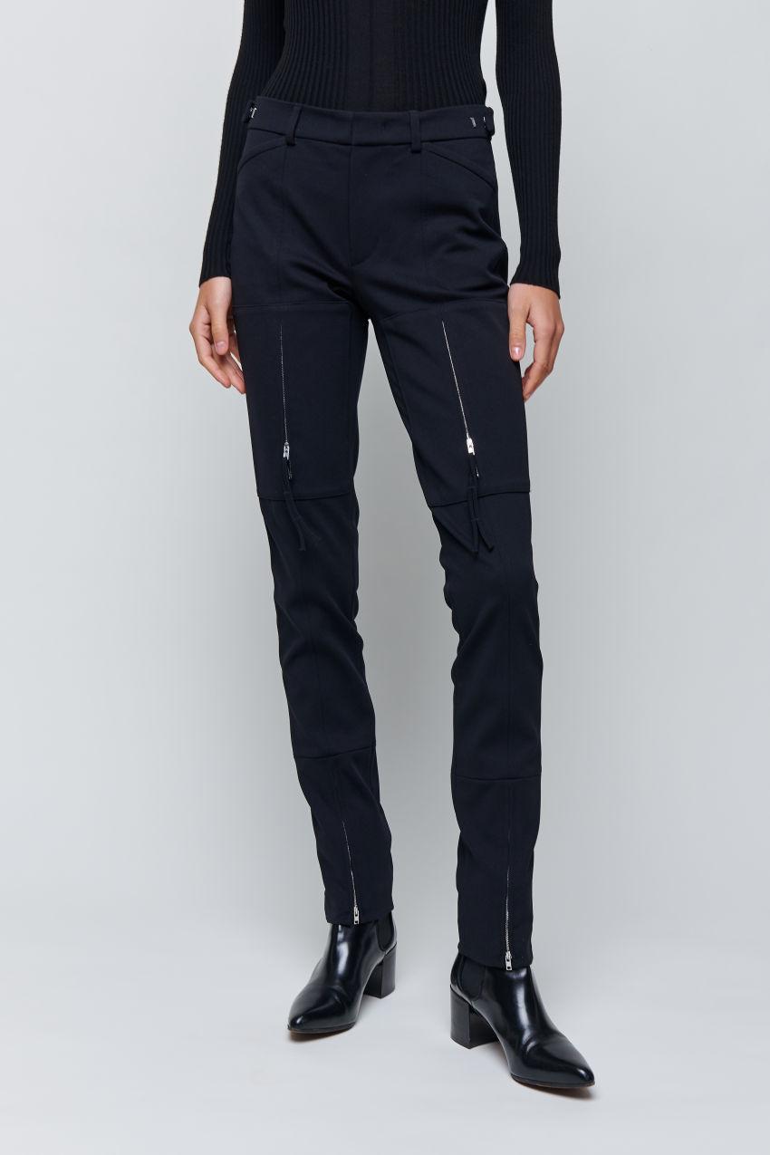 Hose mit Zipper-Details
