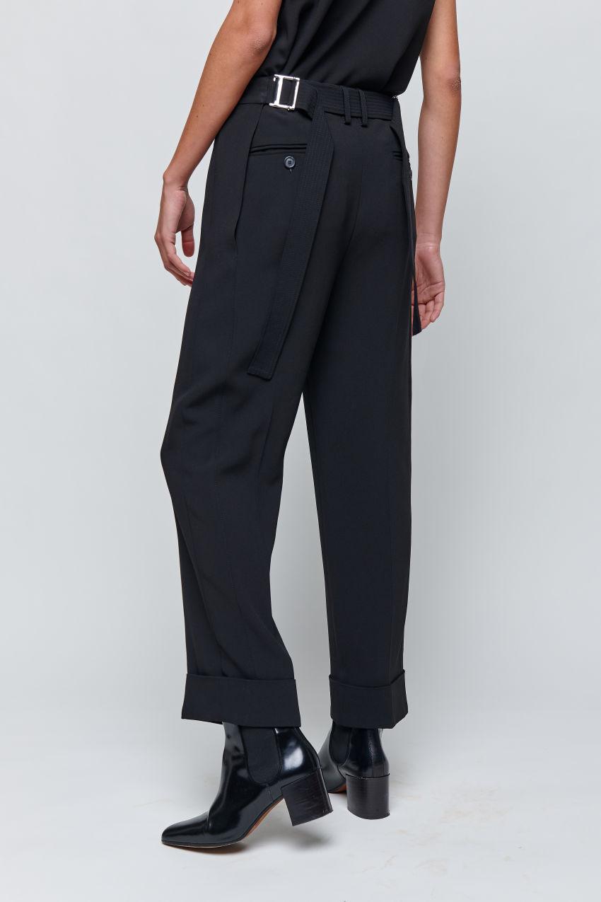 Weite Hose aus Cady