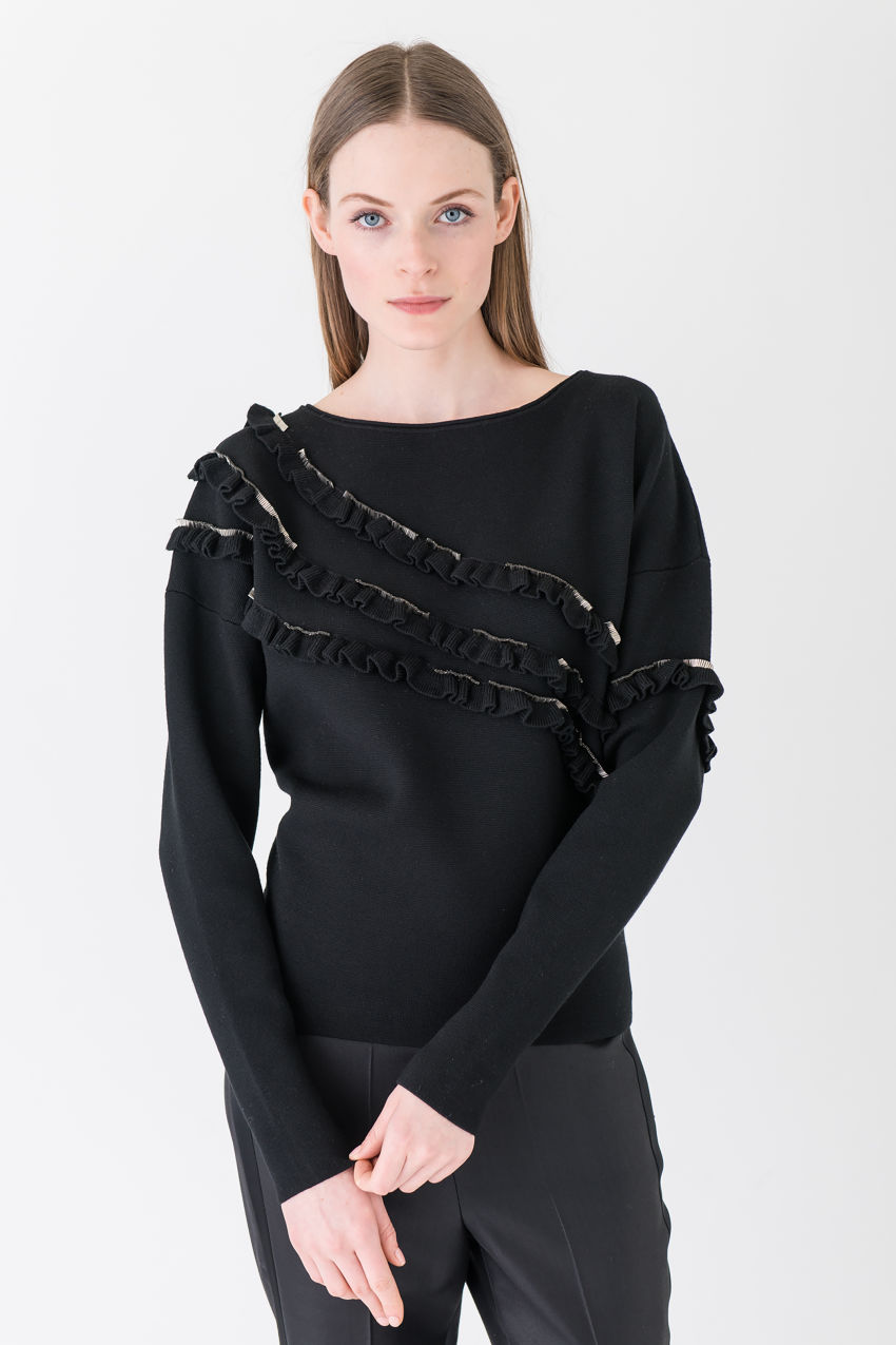 Jumper made of pure merino wool