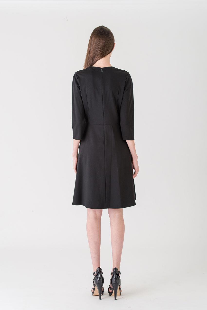 Kleid aus Punto Milano