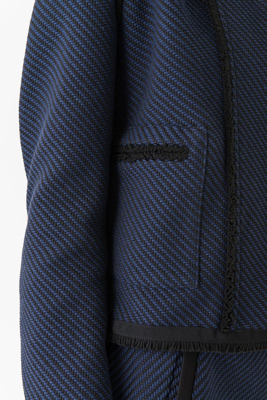 Jacke aus strukturiertem Twill