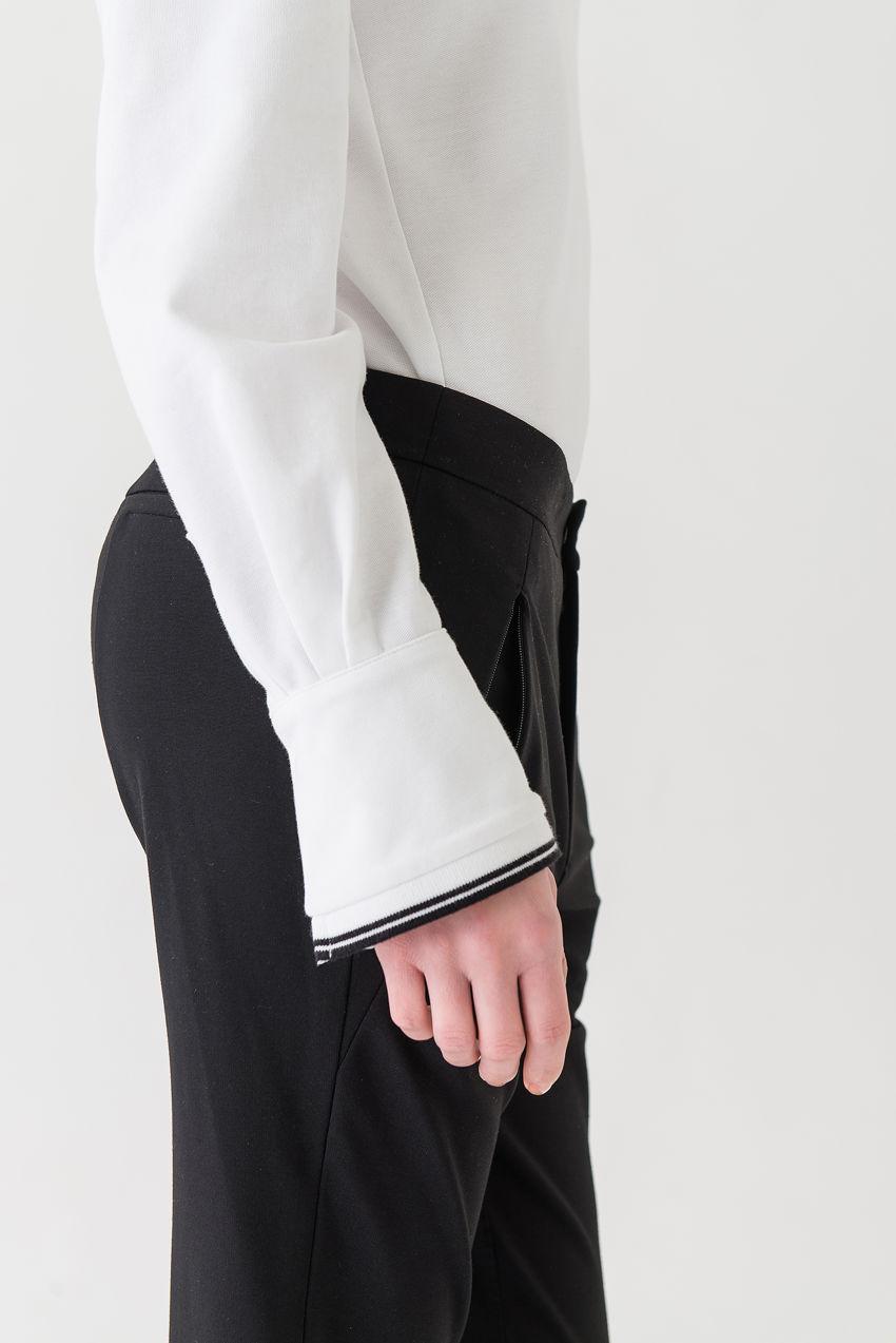 Poloshirt aus Pique Jersey