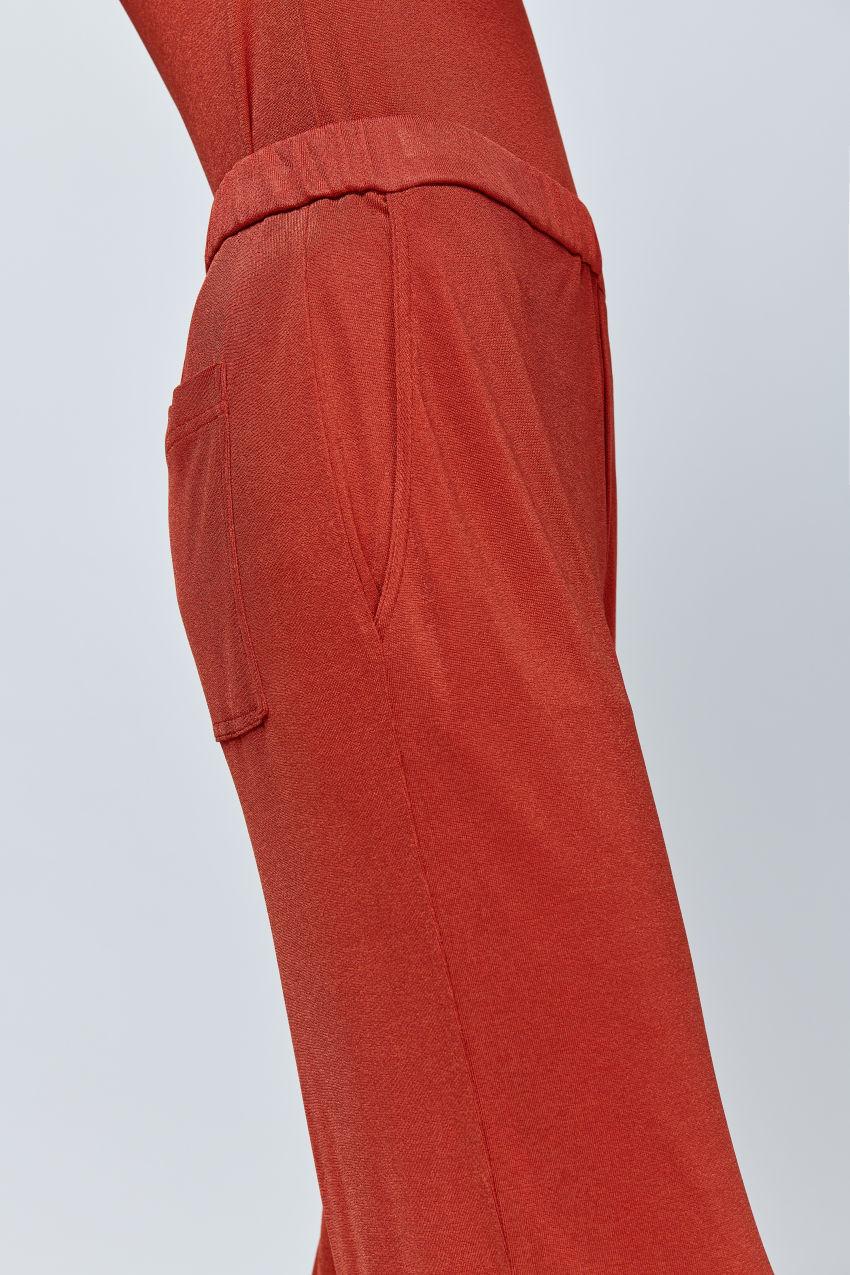 Jersey Hose aus fließender Viskose Mischung