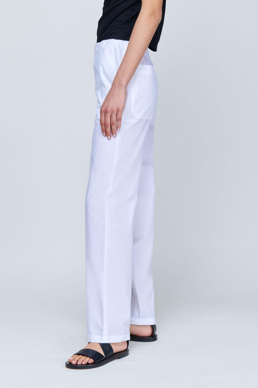 Wide Leg Hose in sommerlicher Baumwolle