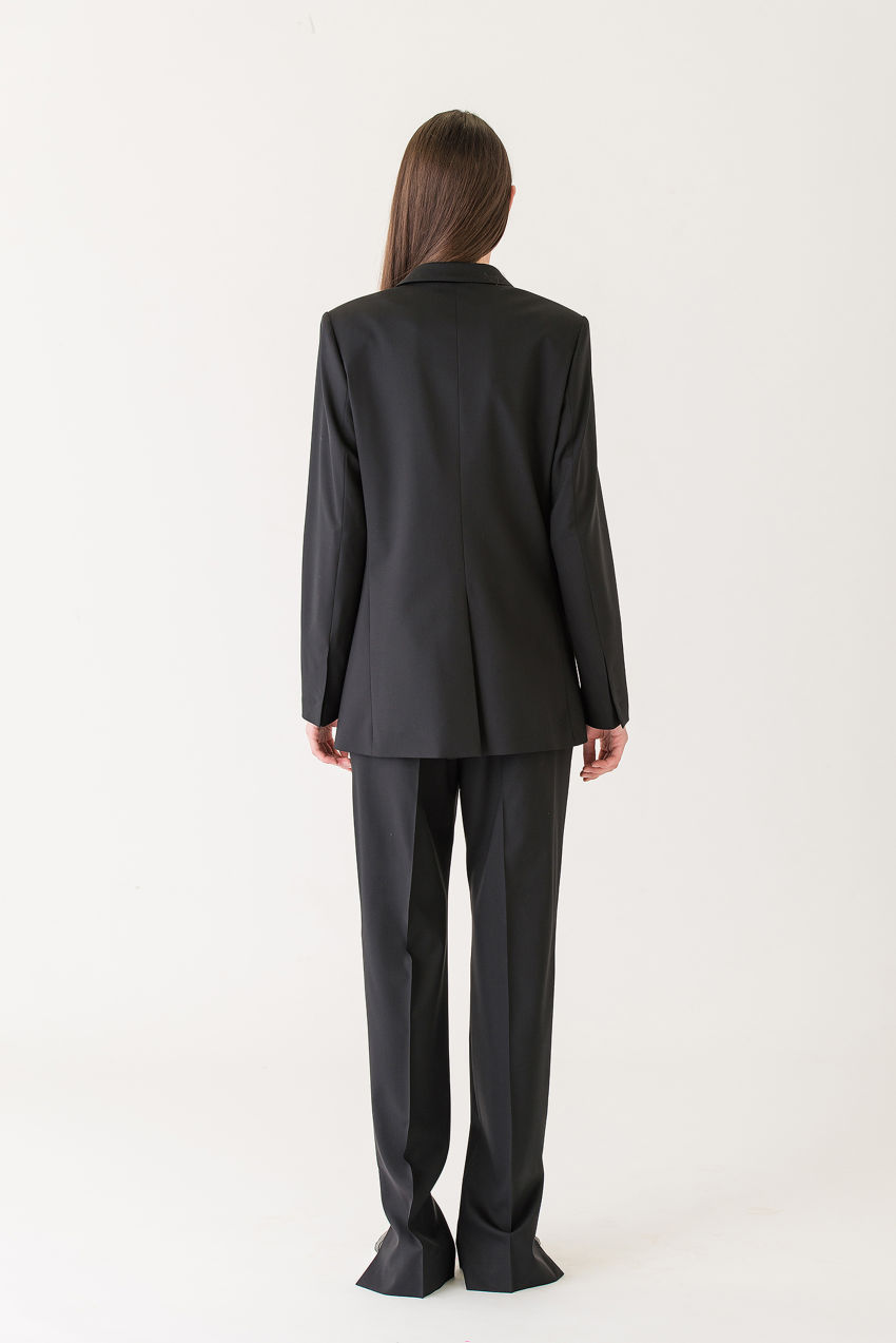 Suit trousers in 130s pure wool