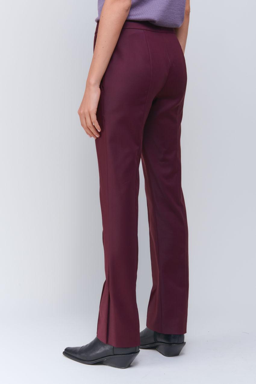 Fashion Hose in Double Poplin Stretch