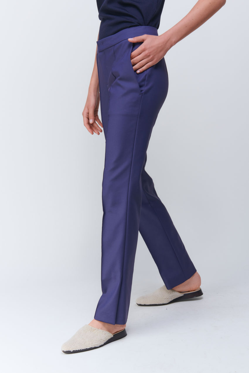 Fashion Hose in Double Poplin Stretch