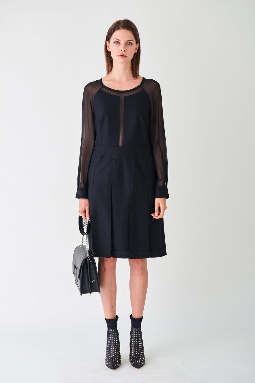 Ausgefallenes Kleid für's Office und danach