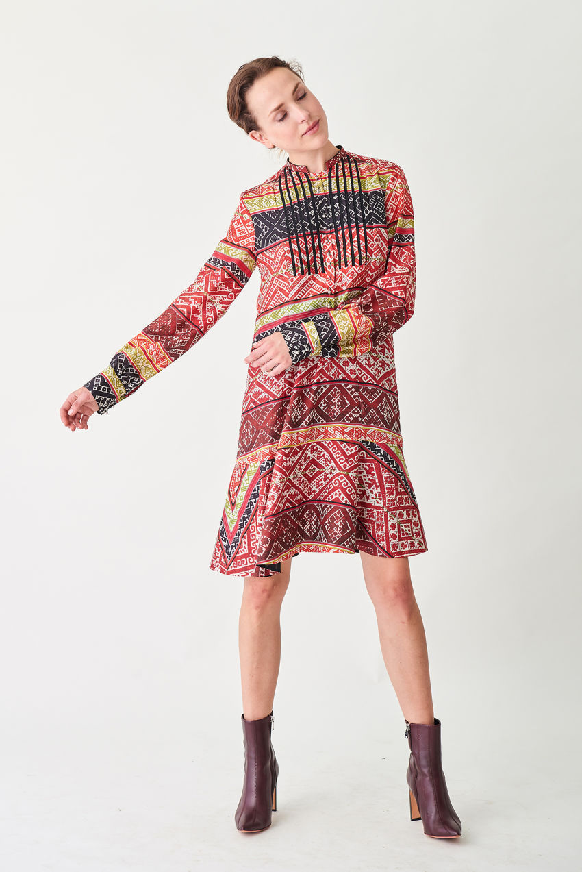Blusenkleid im Flapper-Stil