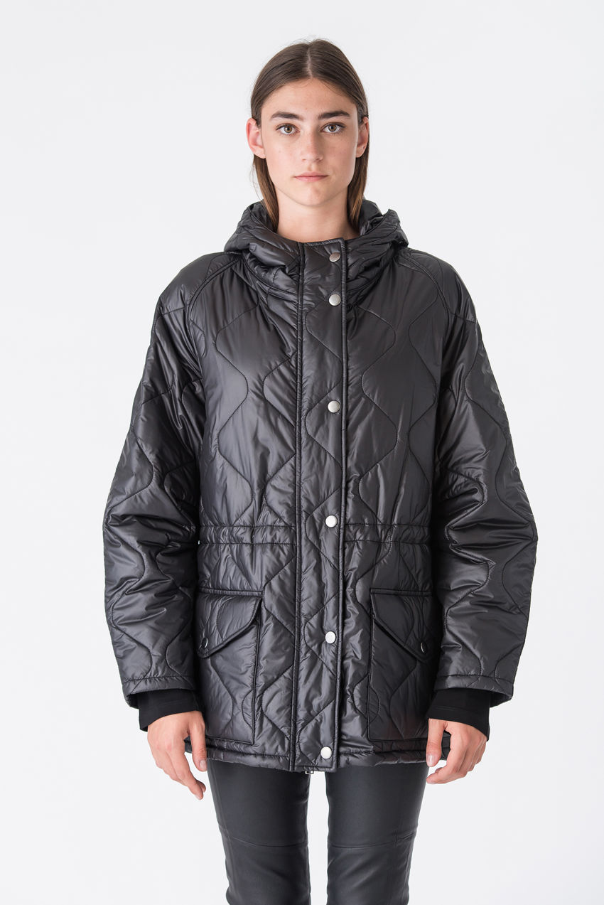 Outdoor Parka mit extravaganter Steppung