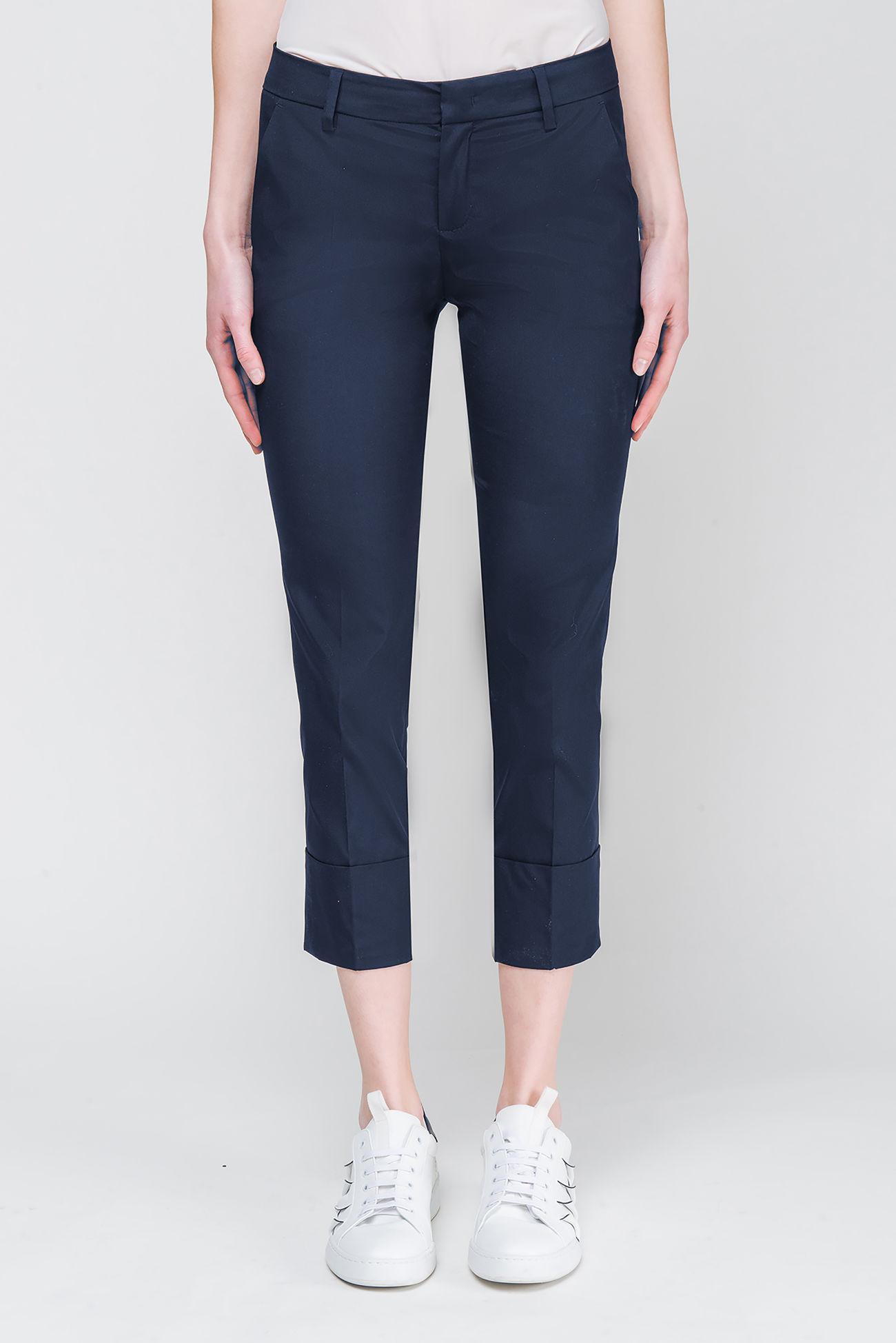 Pants in poplin-stretch