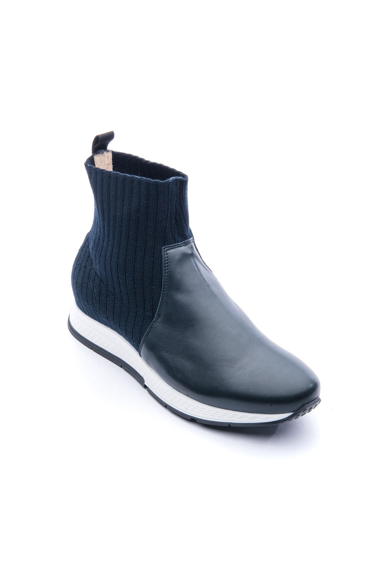 Nappa leather sockboot