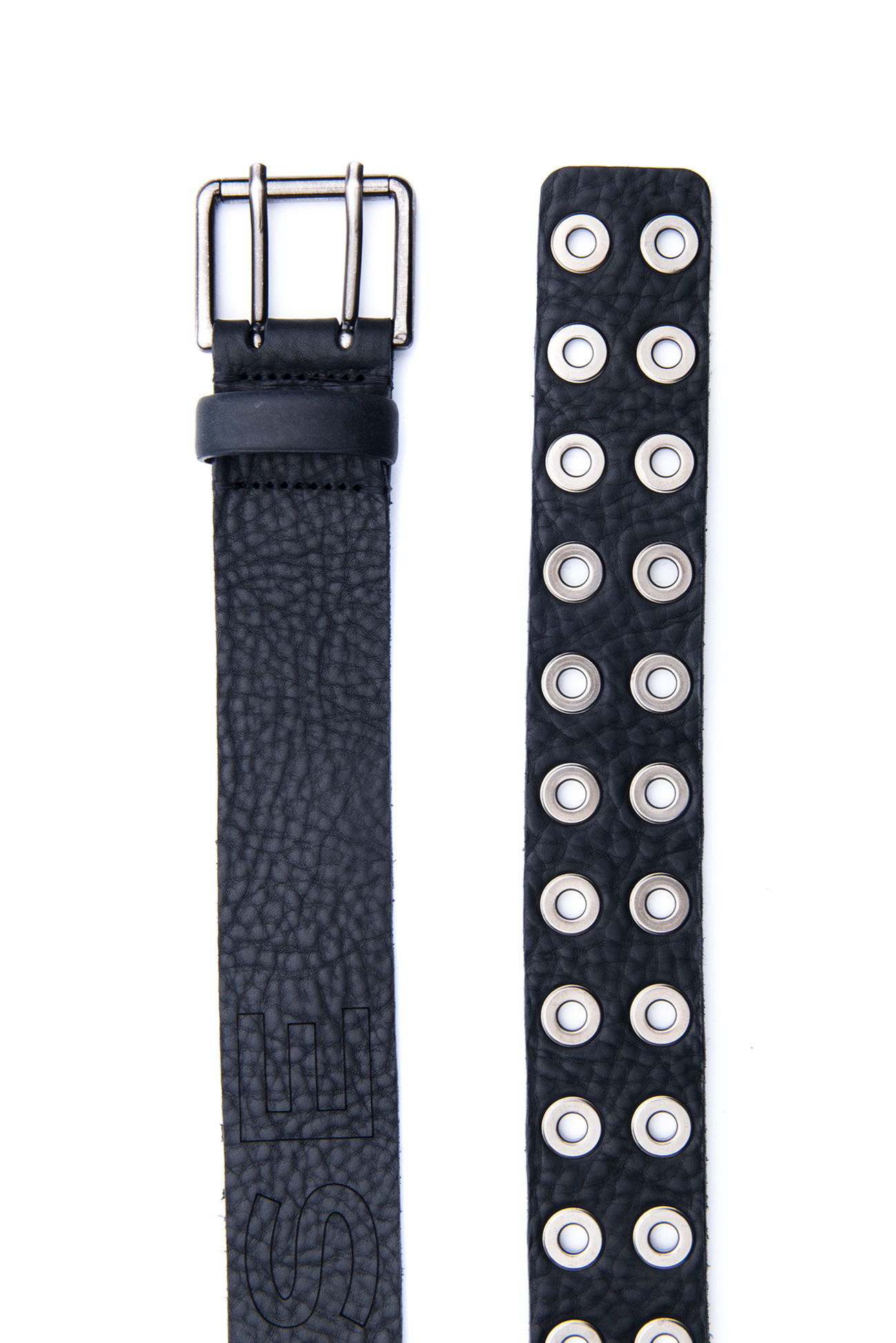 Nappa leather belt