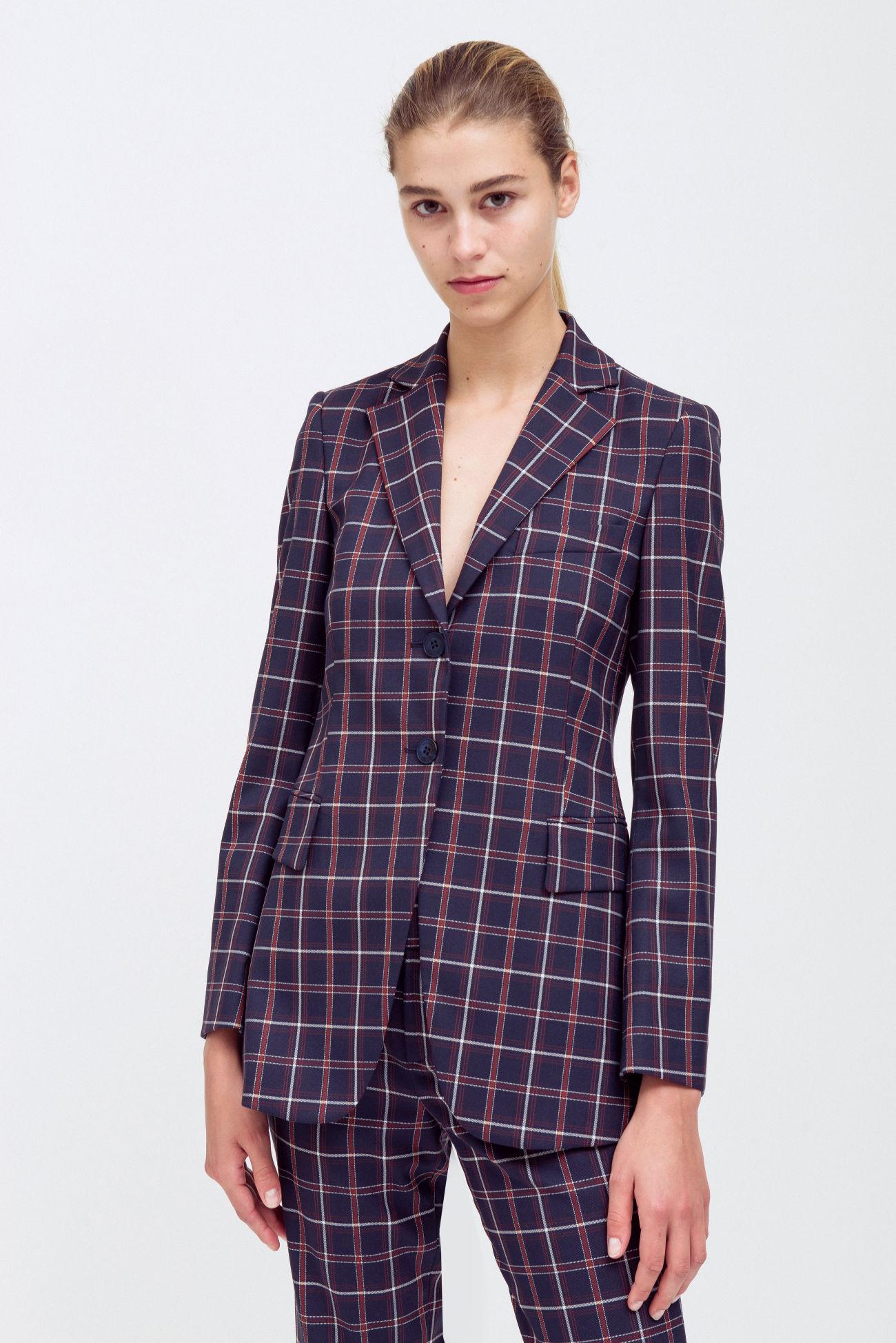 Fashionable two-button blazer
