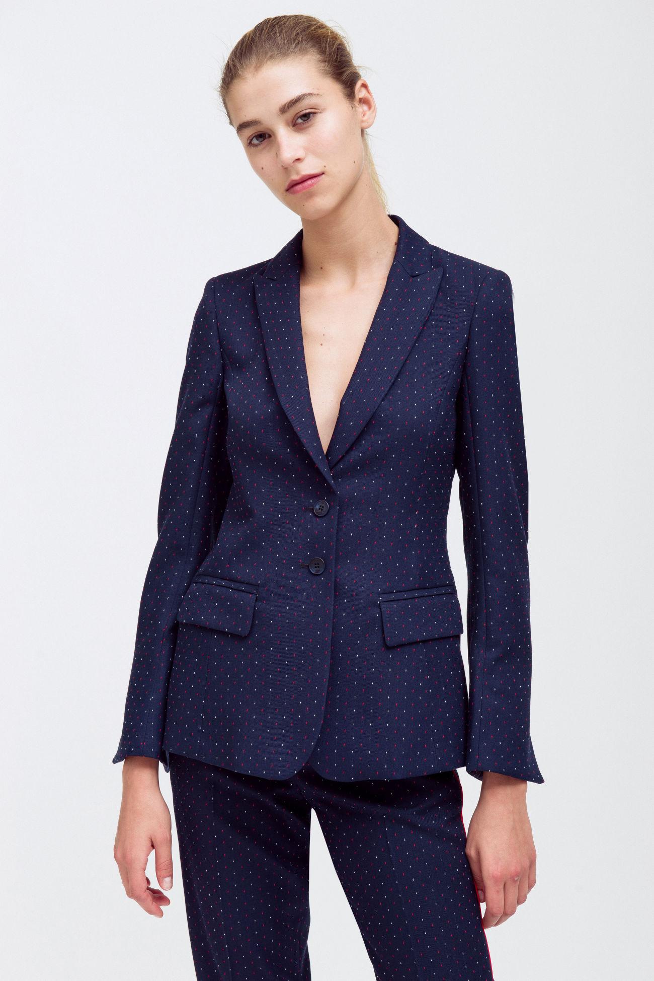 Fancy two-button blazer