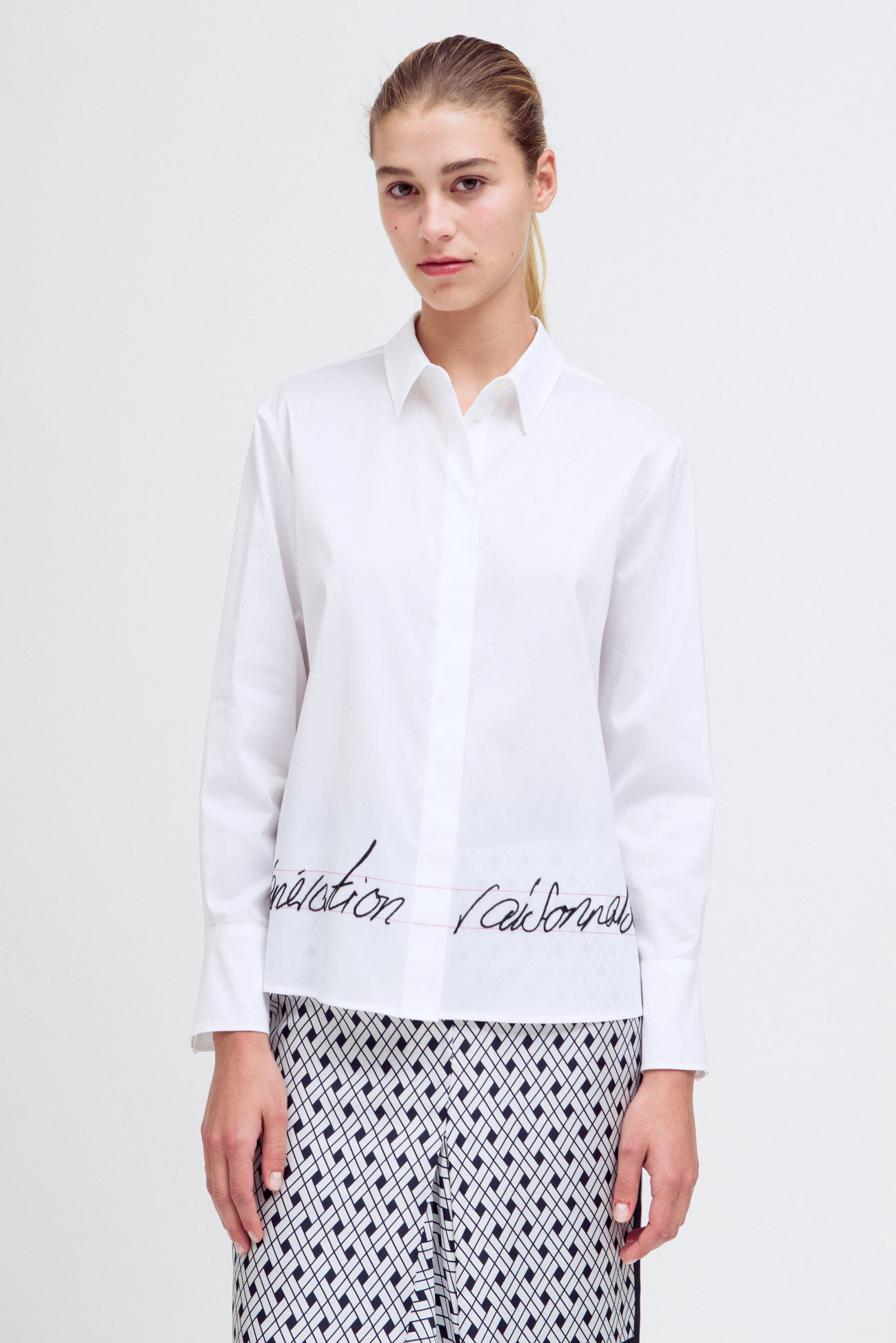 Statement blouse
