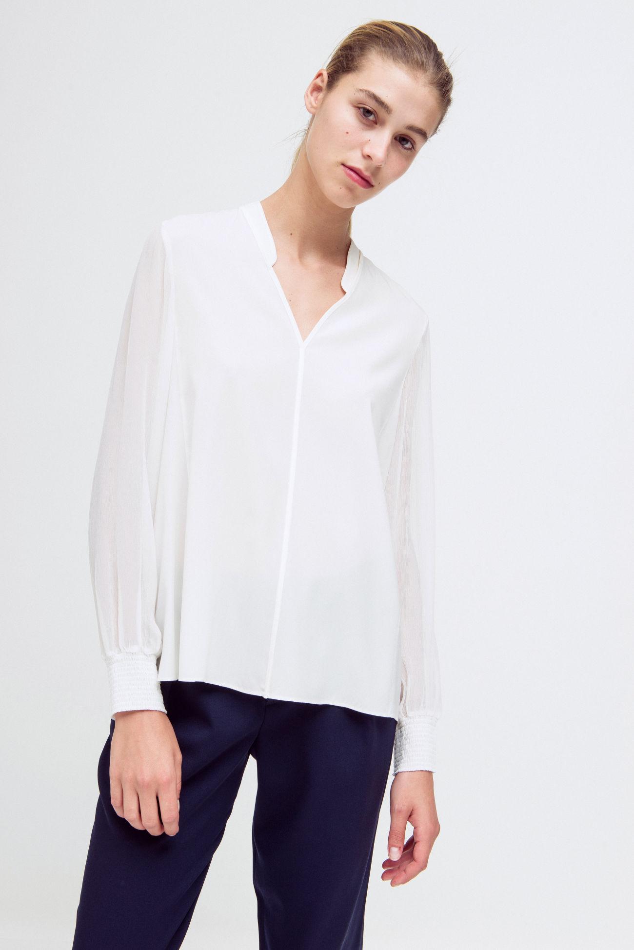 Loose summer blouse