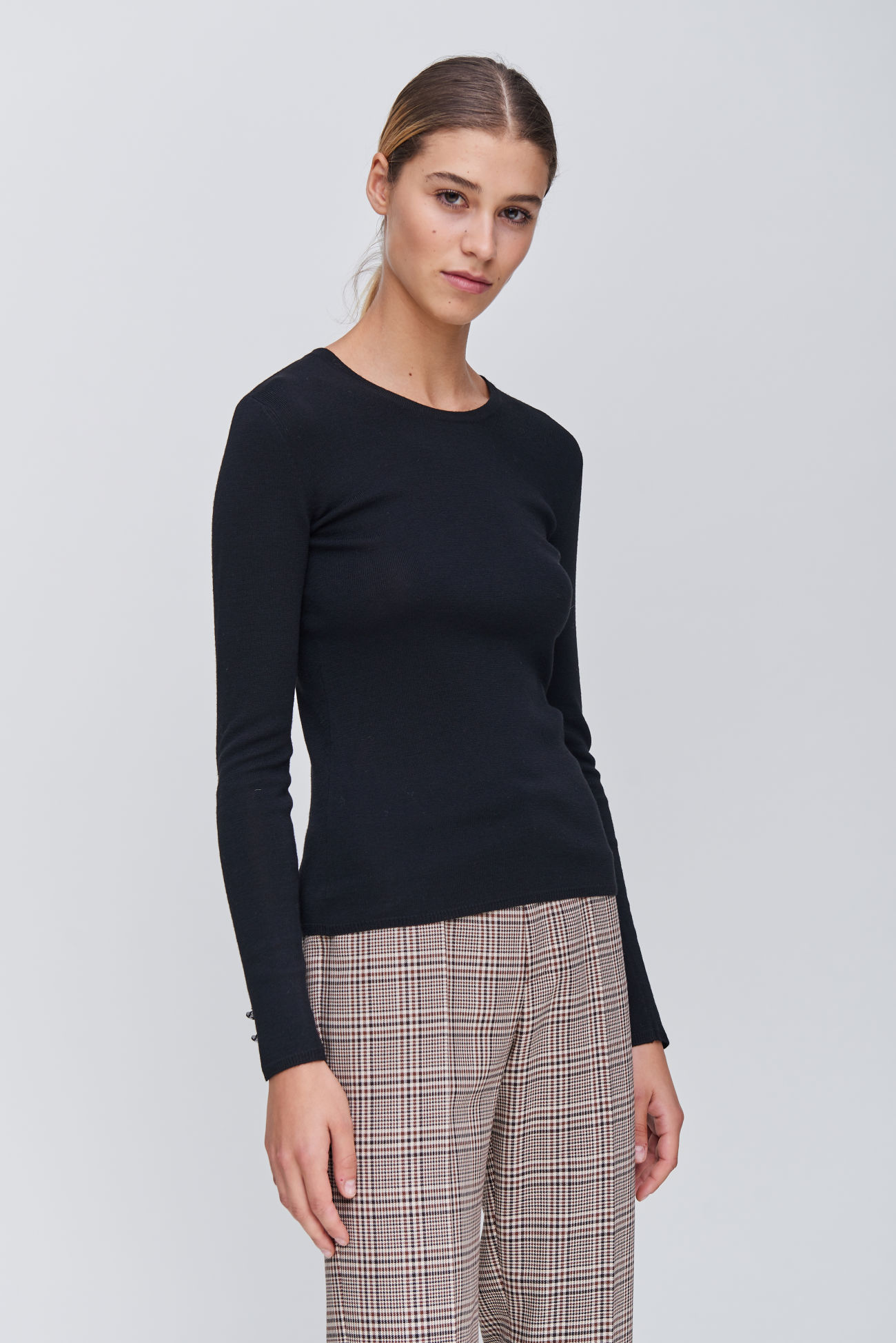 Sophisticated knitted sweater