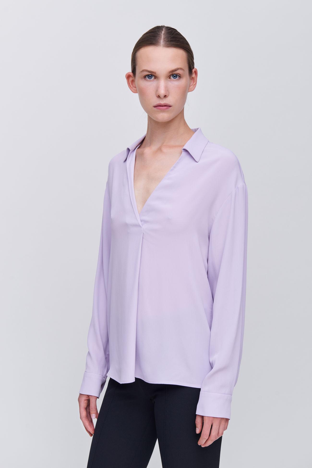 Flattering blouse shirt