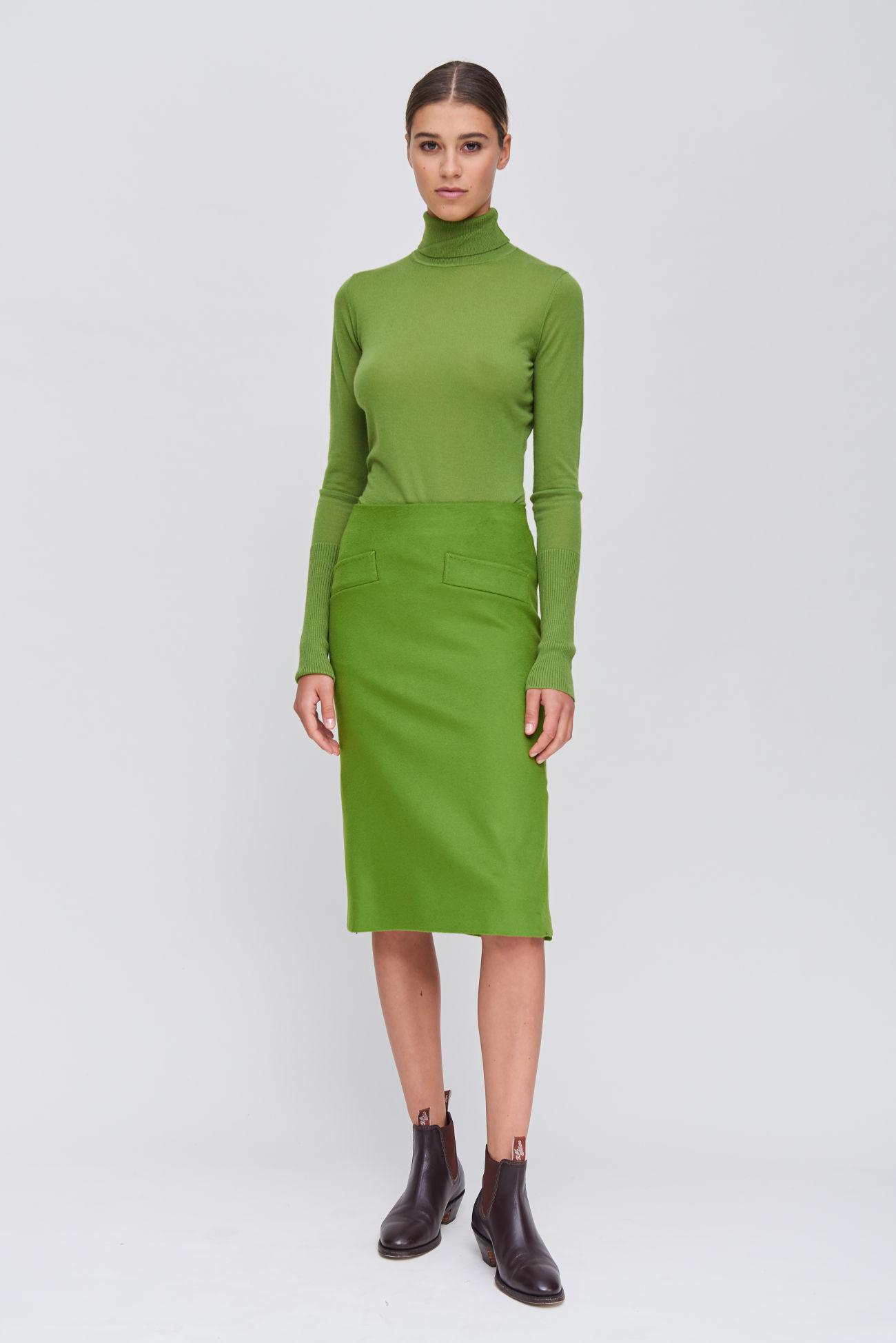 Feminine Business Skirt